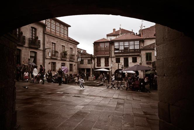 Plaza da Leña, à Pontevedra (Espagne), le 23 avril 2011.