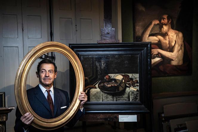 Eric Turquin domine le marché français de l'art ancien (ici, en novembre2020).