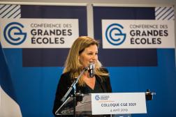 Anne-Lucie Wack, présidente de la Conférence des grandes écoles, à Paris, en 2019.