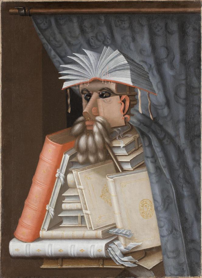 «Le Bibliothécaire» (vers 1566), de Giuseppe Arcimboldo (huile sur toile, 97 x 71 cm).