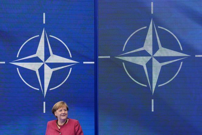 German Chancellor Angela Merkel in Brussels on June 14, 2021.