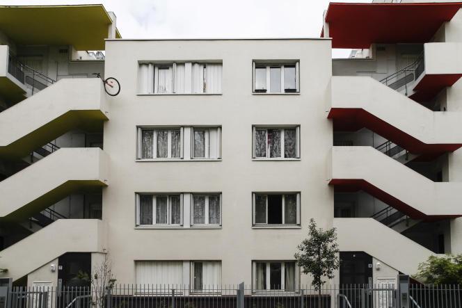Un HLM à Aulnay-sous-Bois, en Seine-Saint-Denis, en 2017.