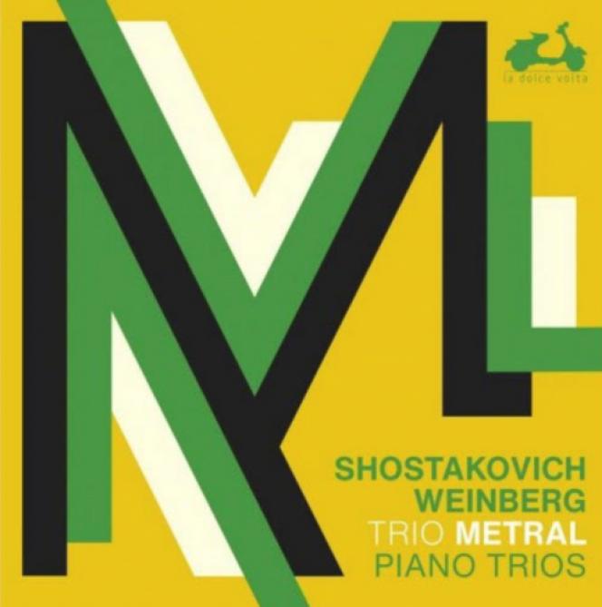 Pochette de l'album «Piano Trios», duTrio Metral.