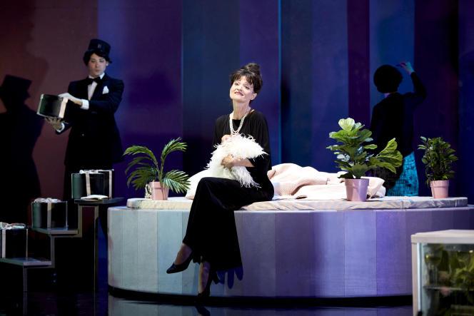 Timur et Sophie Marilley,le 26 mai 2021,lors d'une représentation de l'opéra de Thomas Adès, «Powder Her Face», au théâtre Equilibre à Fribourg (Suisse).