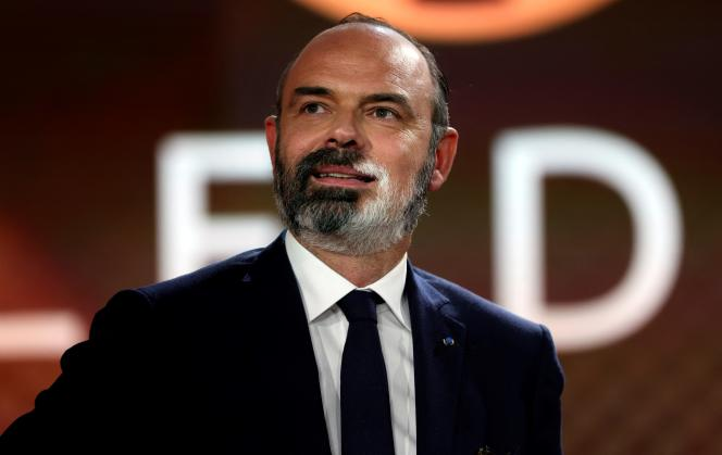 Edouard Philippe, the mayor of Le Havre, on April 4, 2021, in Paris.