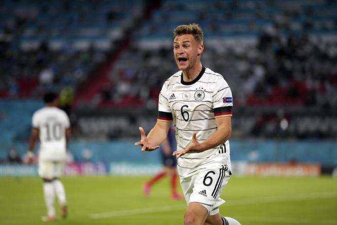 L'Allemand Joshua Kimmich, frustré face aux Bleus, mardi 15 juin.