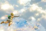 Link est projeté dans les airs dans cette image tirée de la bande-annonce de la suite de« Zelda : Breath of the Wild» prévue pour 2022.