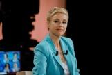 Cleéentine Autain, lors dudébat entre les candidats aux élections régionales en Ile-de-France, à Paris, le 14 juin 2021.