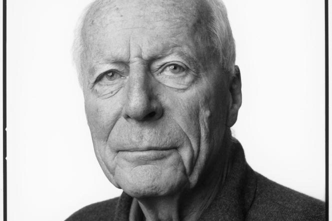 L'architecte allemand Gottfried Böhm, en 2003.