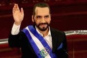 Le président du Salvador, Nayib Bukele, le 1erjuin, à l'Assemblée législative, à SanSalvador.
