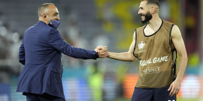 Euro 2021 : à Bron, la « fan zone » n'avait d'yeux que pour Karin Benzema
