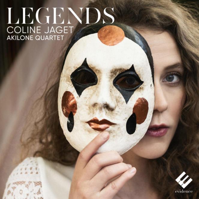 Pochette de l'album «Legends»,de Coline Jaget.