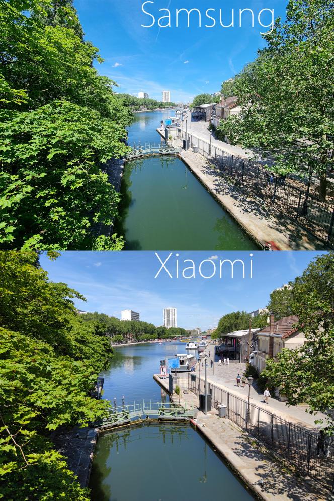 Face aux couleurs relativement naturelles du Xiaomi Mi 11, le Samsung S21 produit des images plus enthousiastes, aux couleurs plus vives, que certains jugeront embellies, d'autres artificielles.