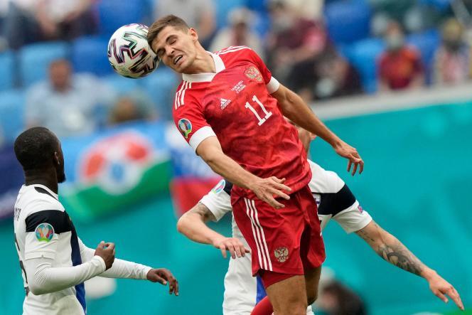 Les Russes de Roman Zobnin ont remporté leur seul match de cet Euro contre la Finlande.