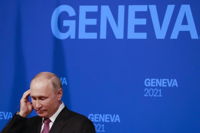 Vladimir Putin announced at his press conference in Geneva (Switzerland) on June 16, 2021 that his meeting with Joe Biden was