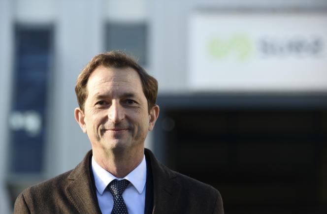 Bertrand Camus, le directeur général de Suez, à Croissy-sur-Seine (Yvelines), le 20 novembre 2020.