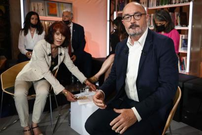 Jean-Laurent Felizia, candidat du rassemblement de la gauche, en région PACA le 16 juin 2021.