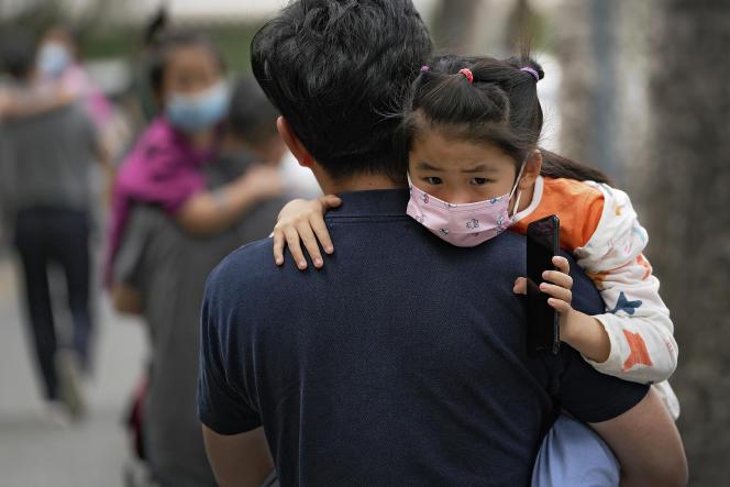 Un jardin d'enfants, à Pékin, le 9 juin 2021.