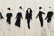 Les dessins de Christian Dior, exhumés par Loïc Prigent pour son documentaire.