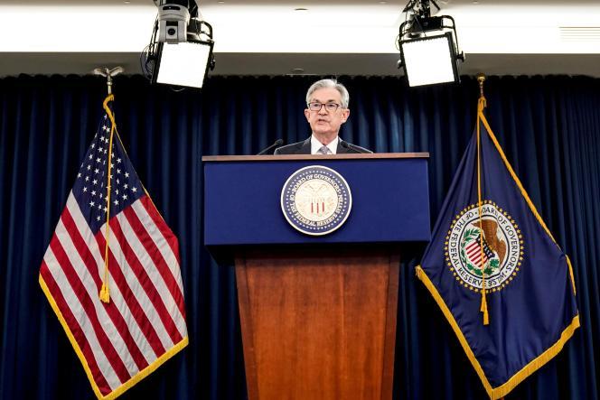 Le président de la Réserve fédérale américaine (Fed), Jerome Powell, à Washington, le 11 décembre 2019.