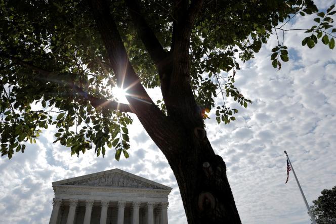 Hooggerechtshof van de Verenigde Staten, Washington, 14 juni 2021.