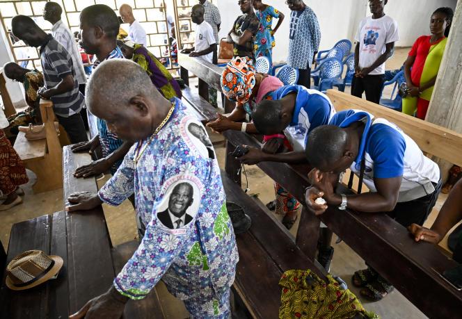 A Mama, le village natif de l'ancien président ivoirien Laurent Gbagbo, son retour, le 17 juin 2021, est très attendu.