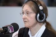 Anne Fagot-Largeault, en 2010, au Salon du livre de Paris.