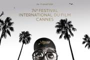 L'affiche officielle du 74e Festival de Cannes.
