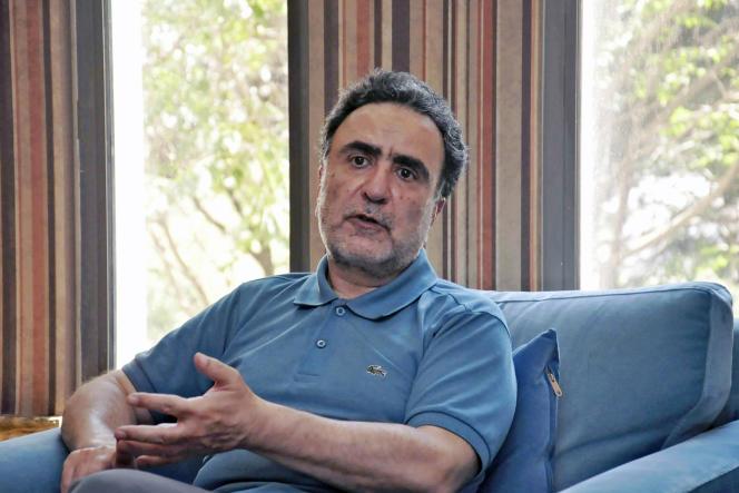 Mostafa Tajzadeh à Téhéran, en Iran, le 15 juin 2021.