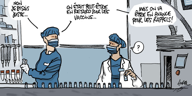 Vaccins : les laboratoires retardataires espèrent trouver leur place
