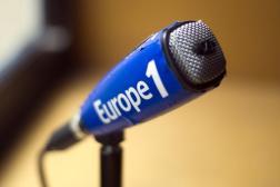 Dans les studios d'Europe 1, en mars 2013.