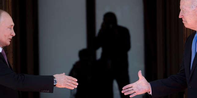 A Genève, Joe Biden et Vladimir Poutine entament un dialogue stratégique à pas comptés