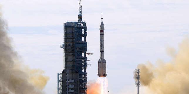 La Chine a envoyé troisde ses astronautes vers sa station spatiale