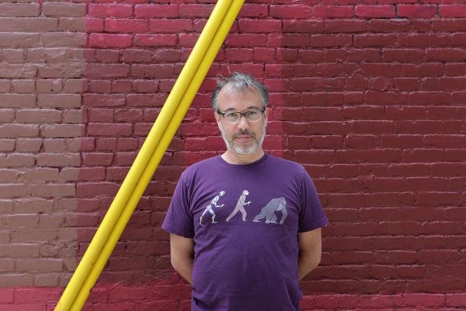 Martin Gibert, à Montréal, le 19 mai 2020.