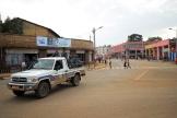 Des officiers de la police fédérale patrouillent dans la ville de Jimma (Ethiopie), le 15 juin 2021.
