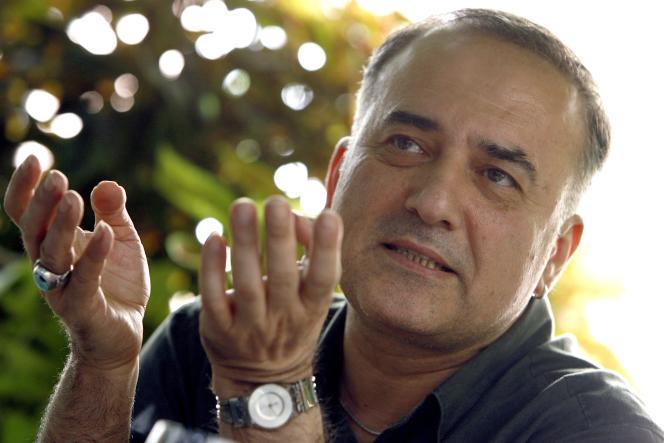 L'écrivain turc d'origine kurde Murathan Mungan à Erlangen en Allemagne, en 2008.