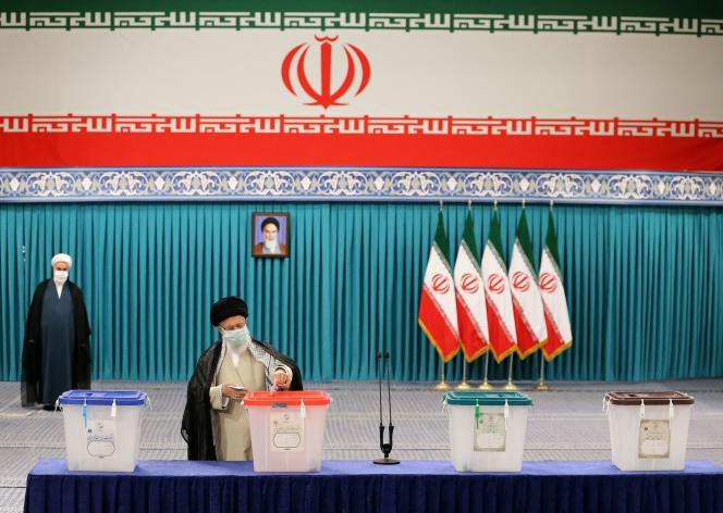 Supreme Leader Ali Khamenei has voted in the June 21, 2021 Iranian presidential election in Tehran.