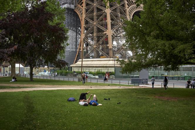 A Paris, le jeudi 17 juin 2021.