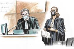 Les procureursNicolas Baietto et Vanessa Parrée lors du procès Bygmalion, le 17 juin 2021.