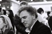 Michel Crépu, au Salon du livre de Paris, en 2012.