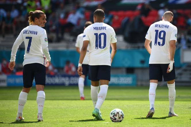 Les Bleus ont été accrochés par la Hongrie, samedi 19 juin, au stade Ferenc-Puskas de Budapest.