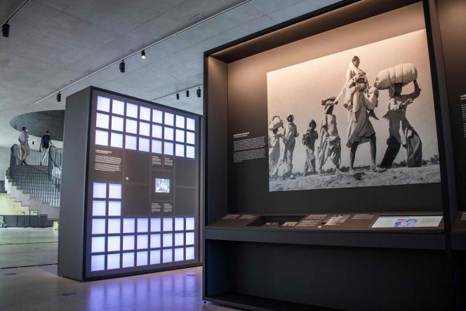 Le «Centre de documentation – Fuite, expulsion, réconciliation» le 18 juin 2021, àBerlin.