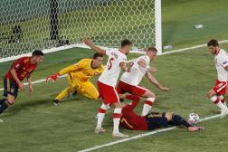 La Roja a ouvert la marque par Alvaro Morata, samedi 19 juin, au stade de Séville (Espagne).
