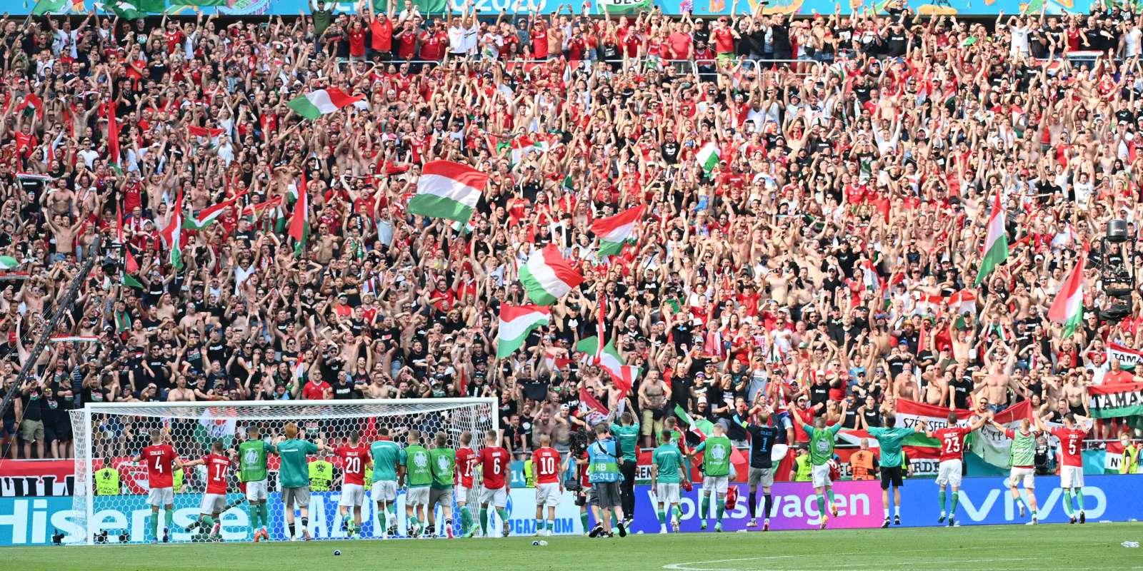 Un match nul en forme de victoire pour la sélection hongroise, qui garde un espoir de qualification, le 19 juin, au stade Ferenc-Puskas à Budapest.