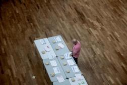 Un bureau de vote du 2e arrondissement de Lyon, le 20 juin 2021.