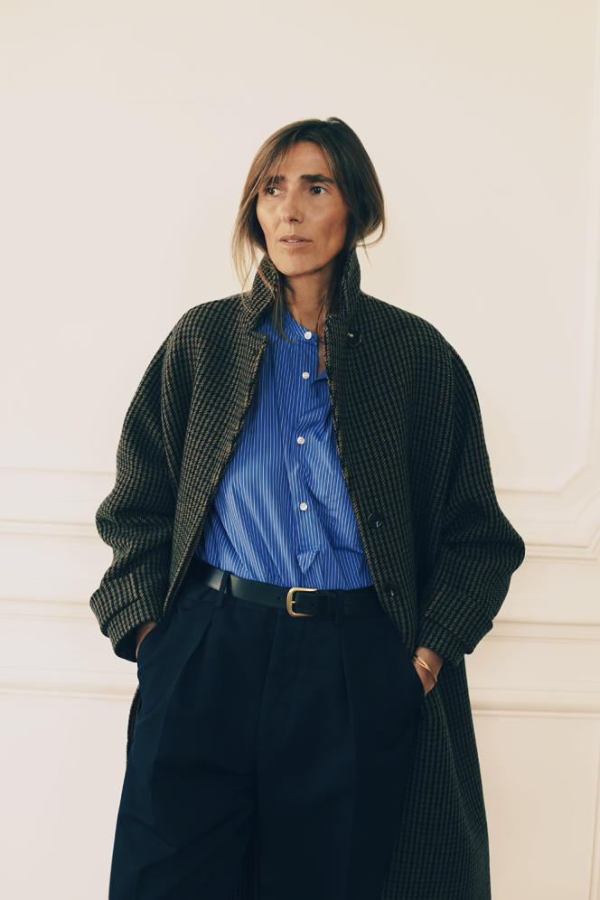 La créatrice de mode Domitille Brion.