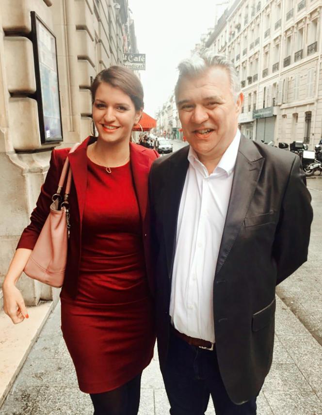 Photo de Marlène et Jean-Marc Schiappa, prise en2018 et postée en juin 2021 par la ministre déléguée chargée de la citoyenneté.