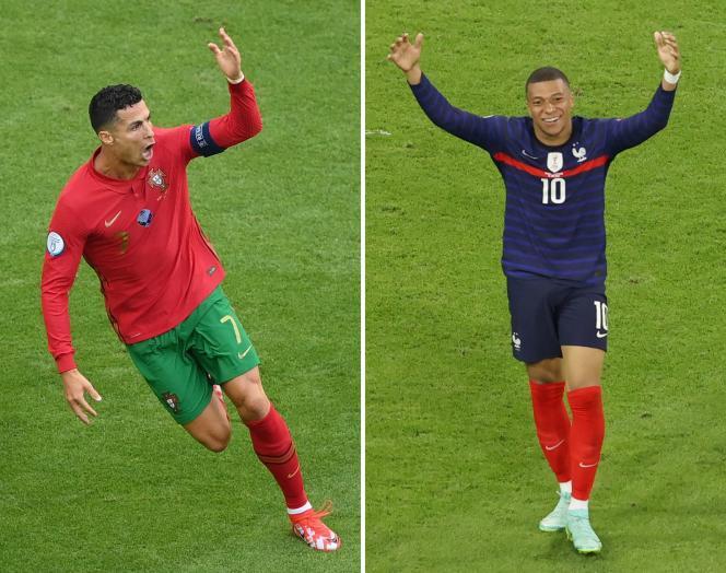 Cristiano Ronaldo et Kylian Mbappé seront très attendus à la Puskas Arena, ce mercredi soir, pour faire la différence lors du match Portugal-France.