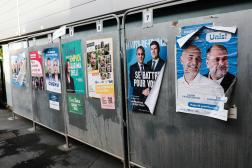 Hénin-Beaumont le 20 juin 2021, 1er tour des élections régionales.