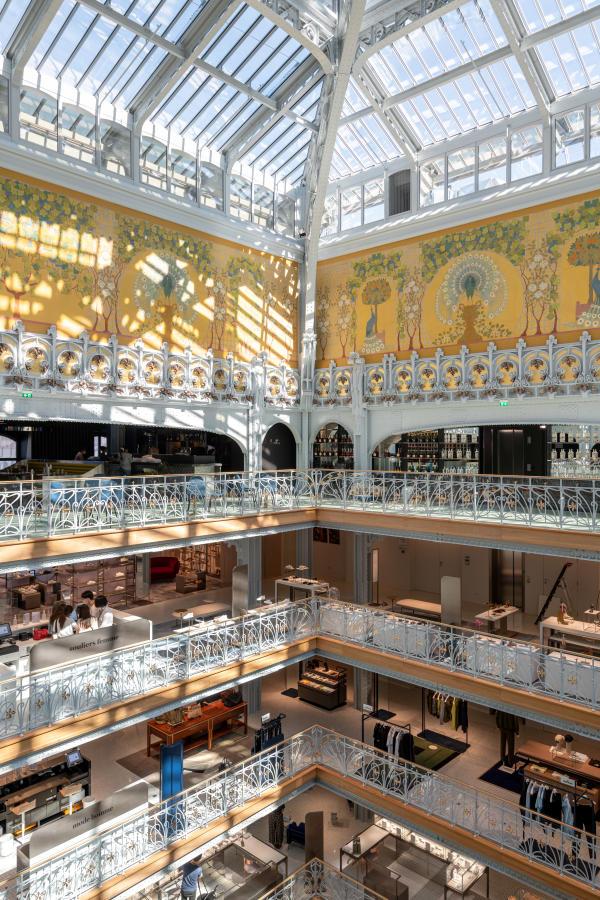 Les étages commerciaux de la Samaritaine, à Paris, le 14 juin 2021.
